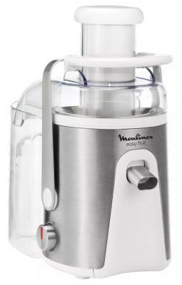 Соковыжималка Moulinex JU585H39 700 Вт нержавеющая сталь белый серебристый кухонная машина moulinex qa50adb1