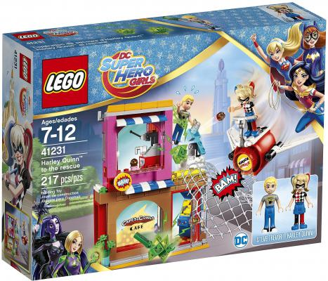 "Конструктор LEGO ""Super Hero Girls"" - Харли Квинн спешит на помощь 217 элементов  41231"