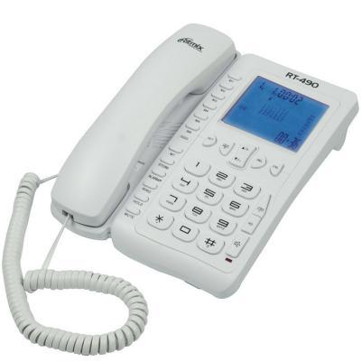 Телефон Ritmix RT-490 белый