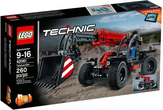 Конструктор LEGO Technic: Телескопический погрузчик 260 элементов 42061