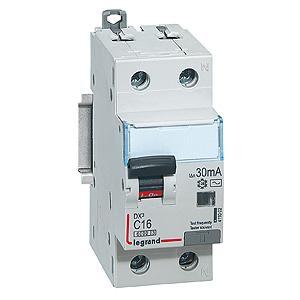 Выключатель дифференциального тока Legrand DX3 1П+Н C16А 10MA-A 1411041 узо legrand dx3 1п н c25а 30ma ac 25a 411504