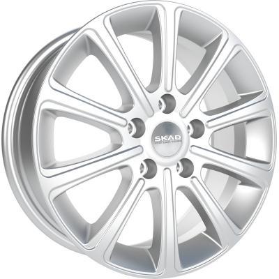 Диск Скад Милан 6.5xR16 5x105 мм ET39 Селена [2130208] литой диск nz wheels f 56 6x15 5x105 d56 6 et39 mbfrs