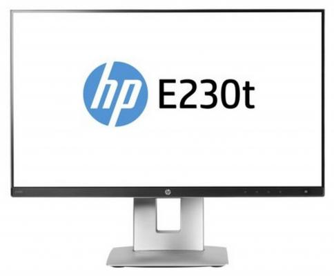 "Монитор 23"" HP EliteDisplay E230t W2Z50AA монитор hp 21 5 elitedisplay e223 1fh45aa"