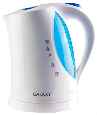 Чайник GALAXY GL0217 2200 Вт белый 1.7 л пластик