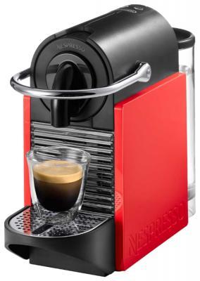 Кофемашина DeLonghi EN 126 красный кофемашина delonghi en 126 silver red