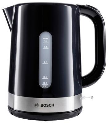 Чайник Bosch TWK7403 2200 Вт чёрный 1.7 л пластик bosch twk 6007v