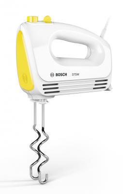 Миксер ручной Bosch MFQ2210Y 375 Вт белый желтый