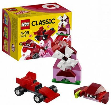 """Конструктор LEGO """"Классик"""" - Красный набор для творчества 55 элементов"""