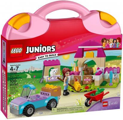 Конструктор LEGO Juniors: Чемоданчик Ферма Мии 100 элементов 10746