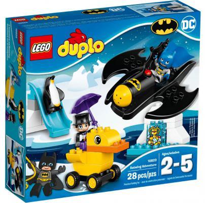 """Конструктор LEGO """"Duplo"""" - Приключения на Бэтмолёте 28 элементов 10823"""