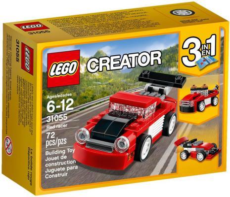 Конструктор LEGO Creator Красная гоночная машина 31055 72 элемента
