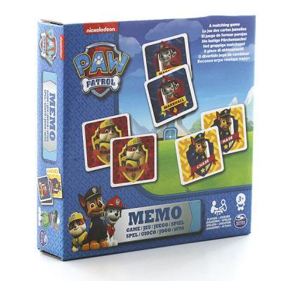 Игра Spinmaster мемори Щенячий Патруль, 48 карточек 6033326 spin master большой автомобиль спасателей погрузчик рокки щенячий патруль