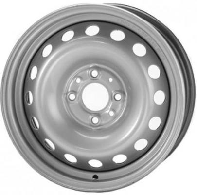 Диск Magnetto Daewoo 5.5xR14 4x100 мм ET49 Silver 14013S AM диск tech line 417 5 5x14 4x100 et43 silver