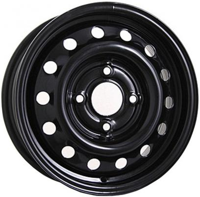 Диск Magnetto VW Polo 14016 AM 5xR14 5x100 мм ET35 Black литой диск alcasta m33 6 5x16 5x100 d57 1 et35 wf