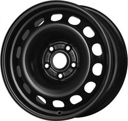 Диск Magnetto Toyota Corolla 6.5xR16 5x114.3 мм ET45 Black [16012 AM] штампованный диск magnetto wheels toyota corolla 6 5 r16 5x114 3 d60 1 et45 black