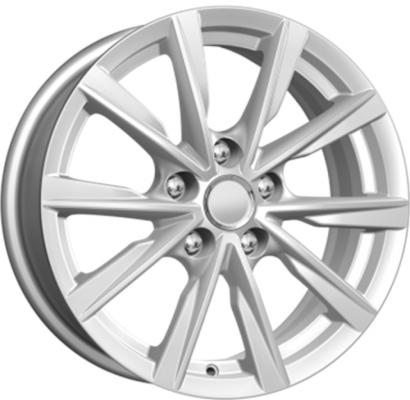 Диск K&K Volkswagen Passat КСr682 6.5xR16 5x112 мм ET42 Сильвер 64444