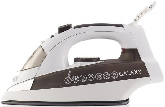 Утюг GALAXY GL6117 2200Вт коричневый утюг galaxy gl6122 синий