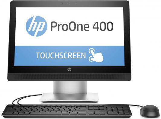"Моноблок 20"" HP ProOne 400 G2 All-in-One 1600 x 900 Intel Celeron-G3900T 4Gb 500Gb Intel HD Graphics 510 использует системную Windows 10 Professional черный Z6R69EA Z6R69EA"