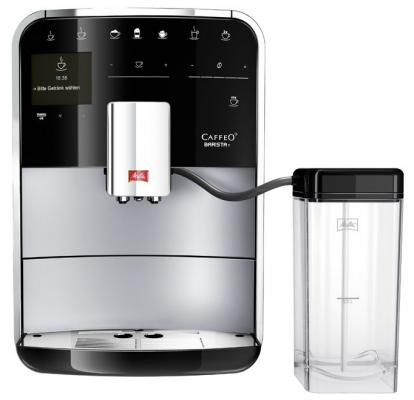 Кофемашина Melitta Caffeo F 730-201 Barista T серебристый 21735 кофемашина melitta 20288