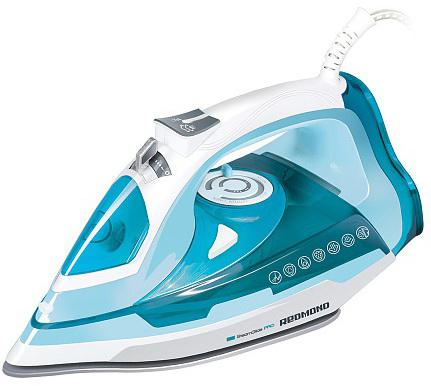 Утюг Redmond RI-C245 2200Вт белый голубой