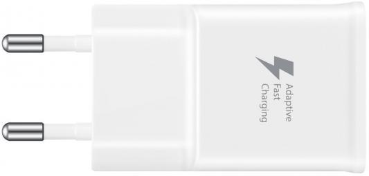 Сетевое зарядное устройство Samsung EP-TA20EWECGRU USB 2А белый беспроводное зарядное устройство samsung ep ng930twrgru microusb 2а белый