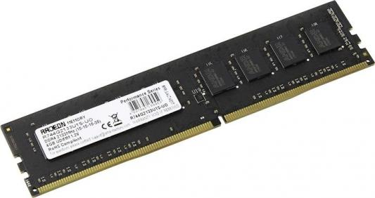 Оперативная память 4Gb (1x4Gb) PC4-17000 2133MHz DDR4 DIMM CL15 AMD R744G2133U1S-UO цена