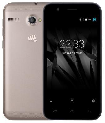 """Смартфон Micromax Q346 Lite кофе 4.5"""" 8 Гб Wi-Fi GPS 3G"""