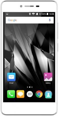 """Смартфон Micromax Q409 серебристый 5"""" 8 Гб LTE Wi-Fi GPS 3G"""