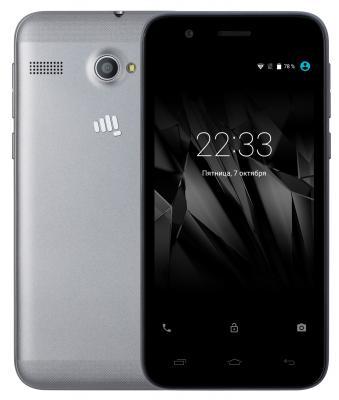 "Смартфон Micromax Q346 Lite серый 4.5"" 8 Гб Wi-Fi GPS 3G"