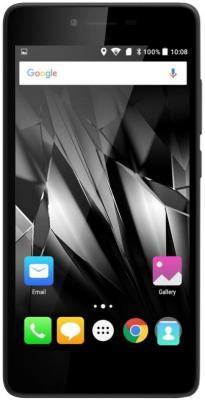Смартфон Micromax Q409 черный 5 8 Гб LTE Wi-Fi GPS 3G смартфон micromax q334 canvas magnus черный 5 4 гб wi fi gps 3g