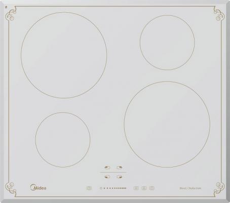 Варочная панель электрическая Midea MC-IF7021B2-RW белый midea mc if7021b2 wh