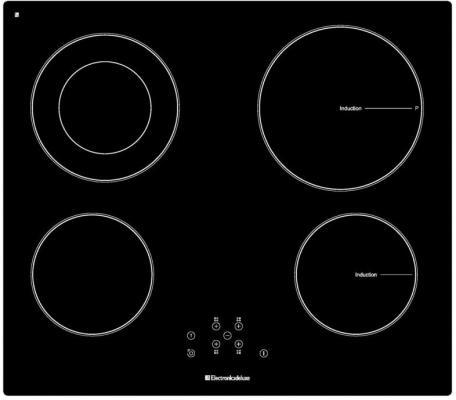 Варочная панель электрическая Electronicsdeluxe 5952022.00эви черный варочная панель индукционная electronicsdeluxe 605304 01эви