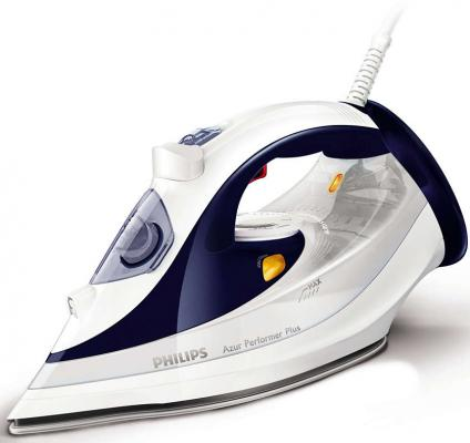 Утюг Philips GC4501/20 2400Вт белый синий