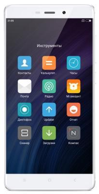 "Смартфон Xiaomi Redmi 4 серебристый 5"" 16 Гб Wi-Fi 3G LTE GPS"