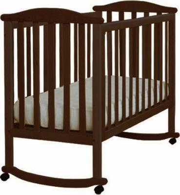 Кроватка-качалка Лель Лютик АБ 15.0 (венге)