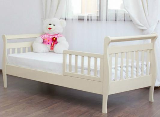 Кровать подростковая без ограждений Лель Юнона БИ04 (ваниль)
