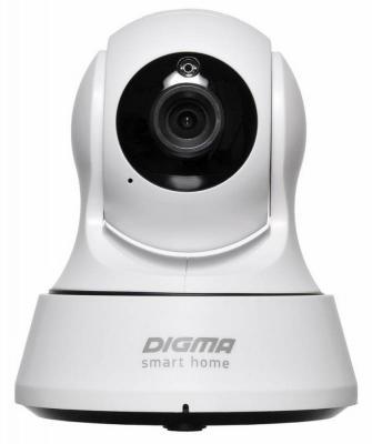 Камера IP Digma DiVision 200 CMOS 2.8 мм 1280 x 720 H.264 Wi-Fi белый