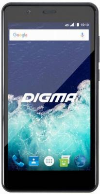 Смартфон Digma Vox S507 4G черный 5 8 Гб LTE Wi-Fi GPS 3G смартфон meizu m5 note серебристый 5 5 32 гб lte wi fi gps 3g