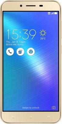 Смартфон ASUS ZenFone 3 Max ZC553KL золотистый 5.5 32 Гб LTE Wi-Fi GPS 3G 90АХ0001-М00270 смартфон zte blade v8 золотистый 5 2 32 гб lte wi fi gps 3g bladev8gold