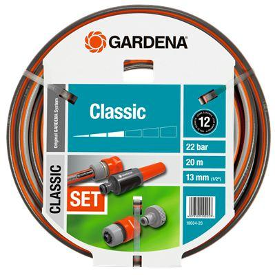 Набор для полива Gardena Classic 1/2 20м 5 предметов 18004-20.000.00 комплект соединительный gardena classic 1 2 1 5 м