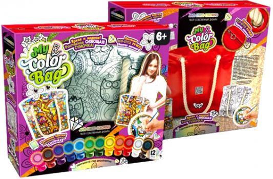 Набор для творчества ДАНКО-ТОЙС My Color Bag сумка-раскраска Мульт от 6 лет