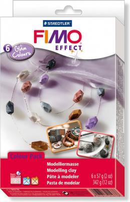 Глина полимерная FIMO soft комплект Гламурные цвета 8023 06