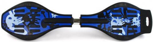 Скейтборд Shantou Gepai 82х20 см (сине-черный) цена 2017