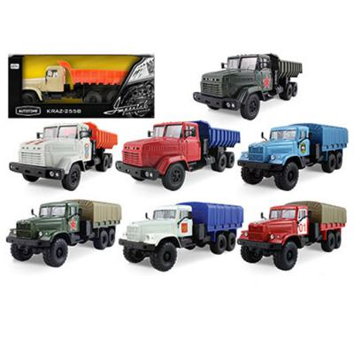 Автомобиль Autotime Imperial Truck Series 1:43 в ассортименте 65137 autotime набор машинок recovery truck long эвакуатор с прицепом