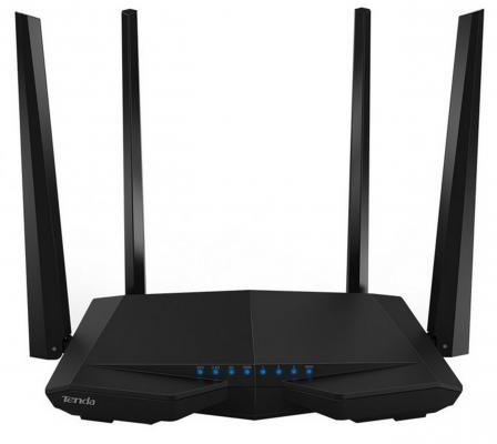 Беспроводной маршрутизатор Tenda AC6 802.11aс 1167Mbps 5 ГГц 2.4 ГГц 3xLAN черный