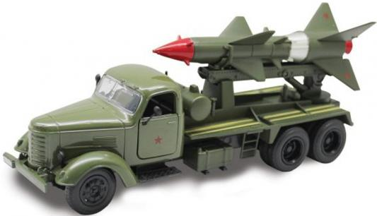Машина Пламенный мотор Ракетный комплекс 19 см хаки 870150 машина пламенный мотор омон 870044