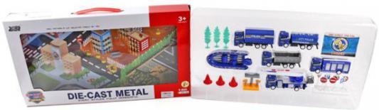 Набор машин Shantou Gepai Полиция, металл 889-181 игрушка домик felice shantou gepai 889 127в ромашка