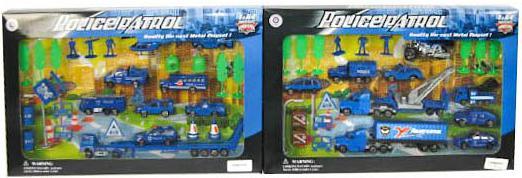 Набор Pioneer Полицейская техника синий 6927076578513