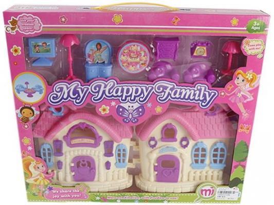 Дом для кукол Shantou Gepai Моя семья с аксессуарами