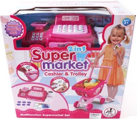 Игровой набор Shantou Gepai Супермаркет - Касса с тележкой  6809A
